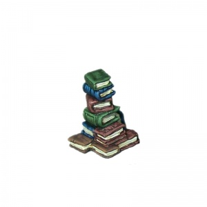 Tall Pile of Books