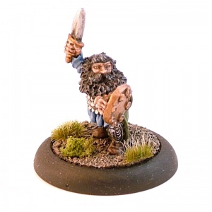 Dwarf with Sword and Shield