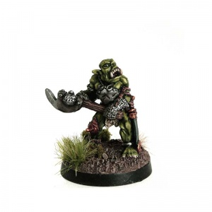 Orc wth Raised Axe