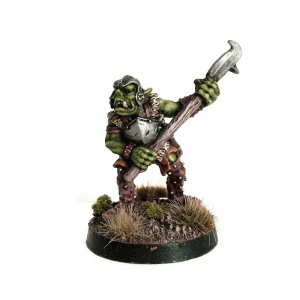Orc with Halberd