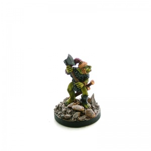Goblin Commander with Axe