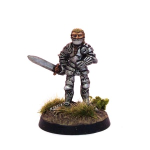 Paladin with Sword
