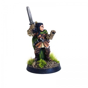 Female Ranger with Sword