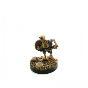 Skeleton with Club and Shield