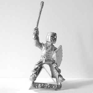 Knight with Raised Sword