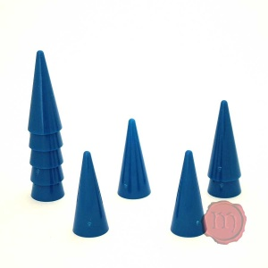 10x Cones (Stackable) - 35mm tall
