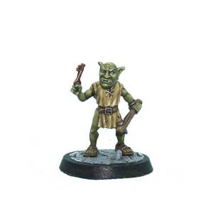 Goblin Jailer with Raised Key