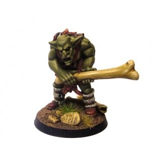 Groblin (Greater Goblin) with Bone