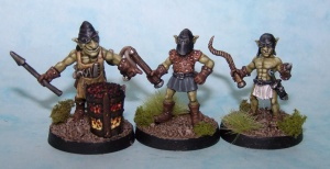 Goblin Slavers (x3 with brazier)