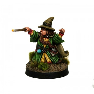 Halfling Wizard #4 Randolf the Wizard