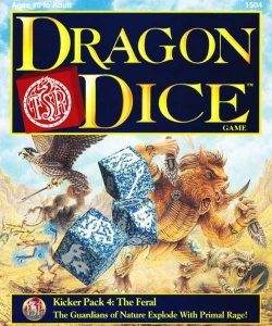 Dragon Dice Kicker - Feral (4 Pack of Dice Only)