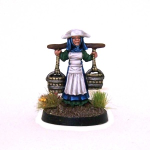 Milk Maid with Shoulder Yoke