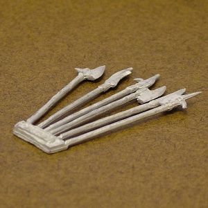 Weapon Sprue 1 - Pole-Arms