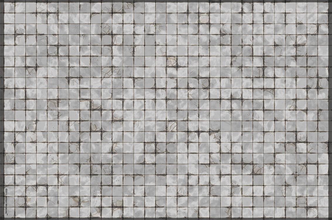 Gaming Mat - Dungeon Tile 25mm Squares 30x20