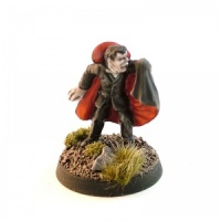 Vampire Gentleman with Held Cloak