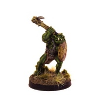 Orc Champion with Spiked Club (B)