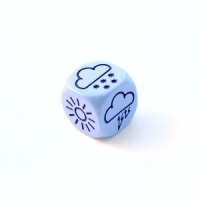 1x Blue Weather Die - 18mm