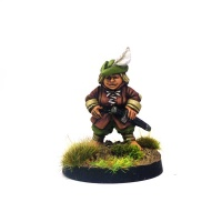 Halfling Adventurer #3 Robina Huddlemuddle