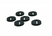 1 x Plastic Round Slotted Base (20mm)