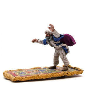Man on Flying Carpet