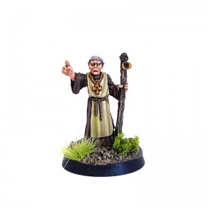 Cleric with Staff