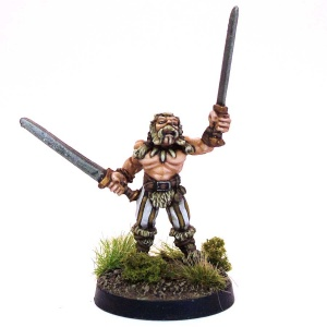 Barbarian with two Swords