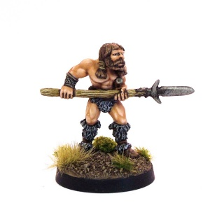 Barbarian attacking with Spear