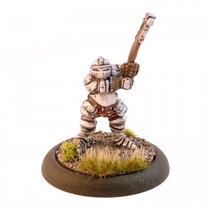 Dwarf with Plate Armour and Hammer
