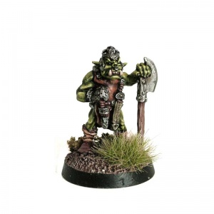Orc with Standing Axe