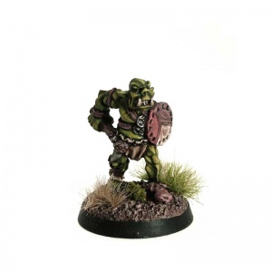 Orc with Spiked Club