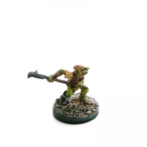 Goblin with Halberd