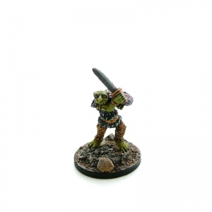 Goblin with Sword and Shield