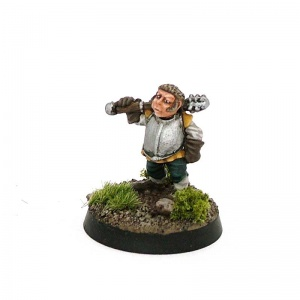 Halfling with Mace