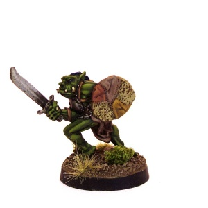 Orc Champion with Sword and Shield (A)
