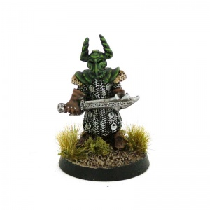 Armoured Goblin Champion with Sword