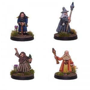 Dwarven Dark Mages (x4)