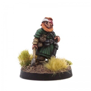 Wounded Dwarf #2 (Head Wound)