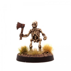 Skeleton Dwarf #1 (With 1-Handed Axe)
