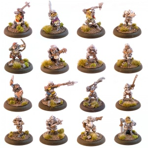Classic Dwarves (any 50 models)