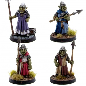 Goblin Guards 1-4 Pack