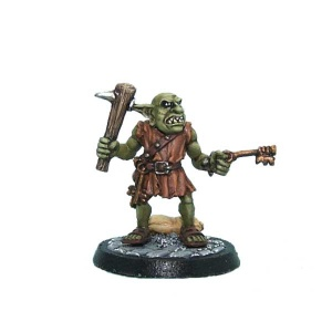 Goblin Jailer with Raised Club