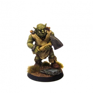 Groblin (Greater Goblin) with Axe