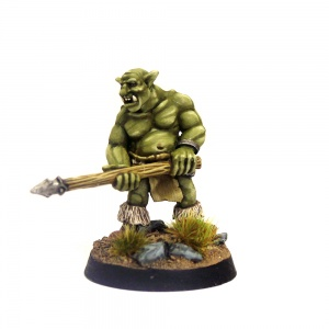 Groblin (Greater Goblin) with Spear