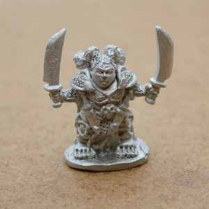 Female Halfling Wasteland Warrior - Vorgulina The Omni-Destroyer