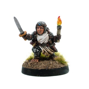 Male Halfling Warrior - Sir Robert Halfpint