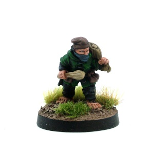 Male Halfling Rogue - Samson 'The Slugger' Swiftnick
