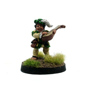 Male Halfling Bard - Joseph The Strummer