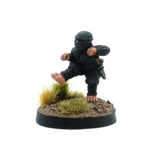 Male Halfling Ninja - The Midnight Scrumper