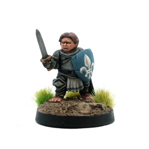 Male Halfling Cavalier / Knight - Sir Duncan
