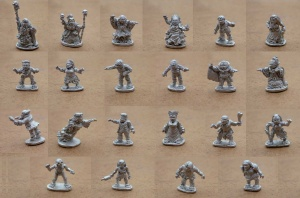 Halfling Undead - Pack of All Male and Female Halflings
